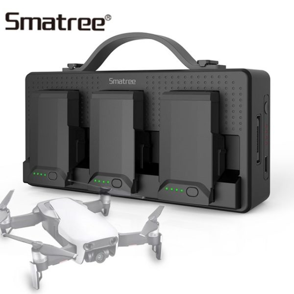 Skytech Drones Aerial Photography Smatree DP160 Mavic Air Charging Station